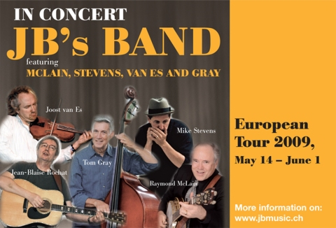 JBs Band Poster.